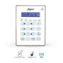 Πληκτρολόγιο  Συναγερμού Sigma AEOLUS KP/RFID | Red Alert Συστήματα Ασφαλέιας Προϊόντα | <p>AEOLUS KP/RFID Πληκτρολόγιο αφής με 16 φωτιζόμενα πλήκτρα και οθόνη LCD μπλέ χρώματος με λευκά γράμματα. Ενδείξεις στα ελληνικά. Για τον προγραμματισμό και το χειρισμό του πίνακα AEOLUS. Αναγνώστη RF-ID για κάρτες προσέγγισης. Χρώμα: Λευκό.</p>  |